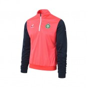 Collection Le Coq Sportif Sweat Training As Saint Etienne Rouge Neon/Eclipse T-Shirts Manches Longues Homme Soldes