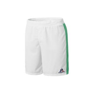 Le Coq Sportif As Saint Etienne Short Optical Blanc Shorts / Bermudas Homme Site Officiel