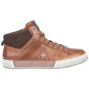 Le Coq Sportif Chaussures Levalle Mid Tortoise Shell - Gris - Chaussures Basket Montante Homme Europe
