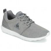 Le Coq Sportif Dynacomf Summer Jersey Gris - Chaussures Baskets Basses Femme Vendre France