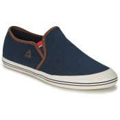Le Coq Sportif Grandville Slip On Cvs Bleu Chaussures Slips On Paris