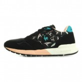 Le Coq Sportif Omega X Bird Of Paradise Noir - Chaussures Baskets Basses Femme Officiel