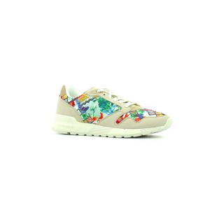Le Coq Sportif Omega X Garden Fusion Gray Morn / Multicolore - Chaussures Baskets Basses Femme Soldes Provence