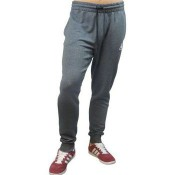 Le Coq Sportif Pantalon Bar Tapered Heather Gris Anthracite Joggings / Survêtements Femme Pas Cher