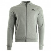 Le Coq Sportif Tech Fz Sweat M Light Heather Grey Gris Sweats Homme Magasin Lyon