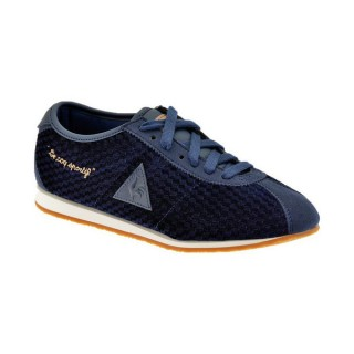 Magasin Le Coq Sportif Wendon Velvet Baskets Basses Chaussures Femme Paris