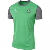 Mode Le Coq Sportif T-Shirt Training Asse 2016/2017 Vert/Gris Anthracite T-Shirts & Polos Homme