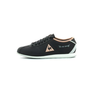 Mode Le Coq Sportif Wendon Classic Charcoal Tropical Peach Chaussures Femme