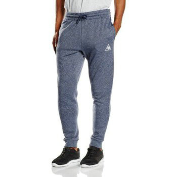 Le Coq Sportif Jogging Bar Tapered Unbrushed Bleu Marine Joggings / Survêtements Homme