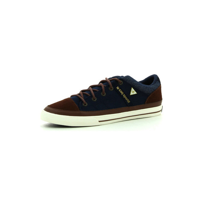 Le Coq Sportif Temple Low Dress Blue - Chaussures Baskets Basses Homme
