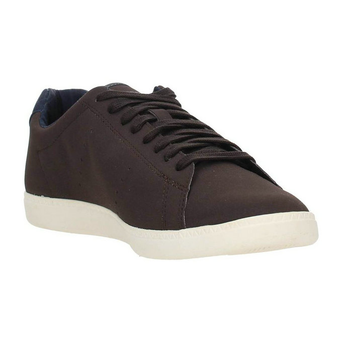 Le Coq Sportif 1620163 Sneakers Homme Cuir Brun Chaussures Homme