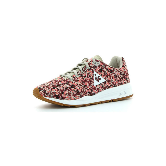 Le Coq Sportif Lcs R950 Flowers Jacquard Ruby Wine - Chaussures Baskets Basses Femme
