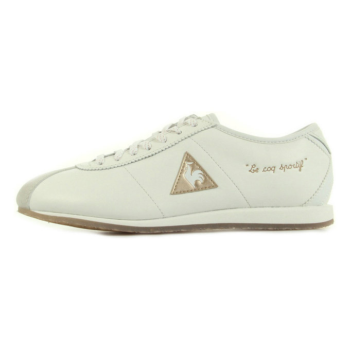 Le Coq Sportif Wendon W Sparkly Blanc - Chaussures Baskets Basses Femme