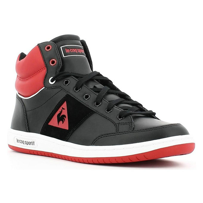 Le Coq Sportif 1520900 Chaussures Sports Man Nero - Chaussures Basket Montante Homme