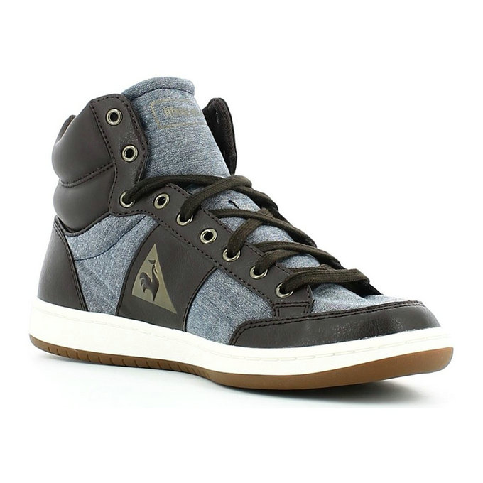 Le Coq Sportif 1520902 Chaussures Sports Man Brun - Chaussures Basket Montante Homme