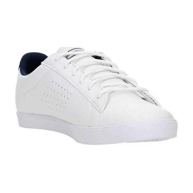 80ff6bb70217 Le Coq Sportif 1621221 Sneakers Femme Faux Cuir Blanc - Chaussures Baskets  Basses Femme Boutique