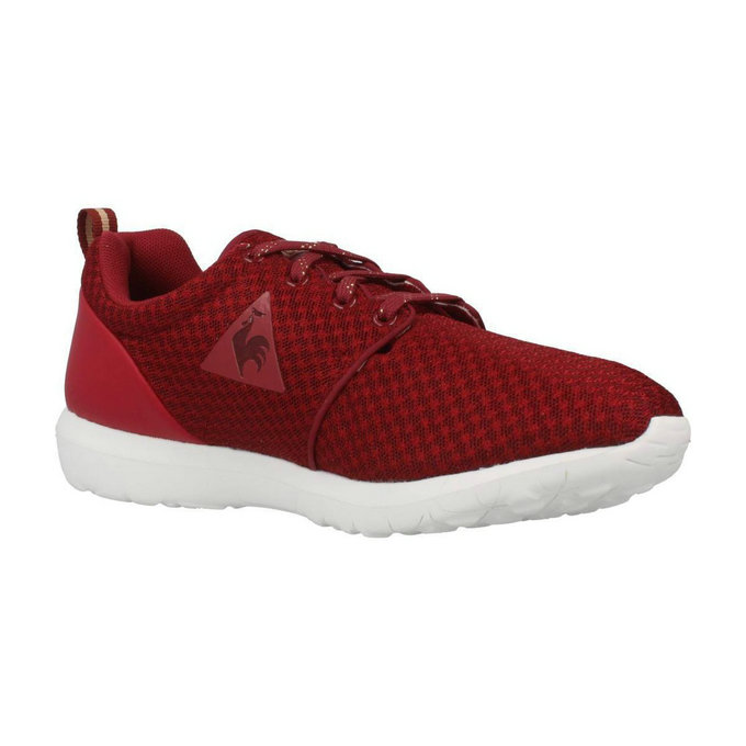 Le Coq Sportif Dynacomf W Feminine Mesh Rouge Chaussures Baskets Basses Femme