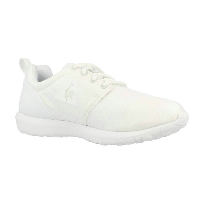 Le Coq Sportif Dynacomf W Iridescent Blanc Chaussures Femme