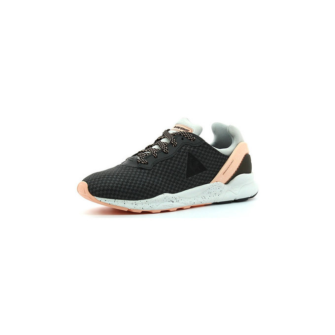 Le Coq Sportif Lcs R Xvi Blured Charcoal Galet - Chaussures Baskets Basses Femme