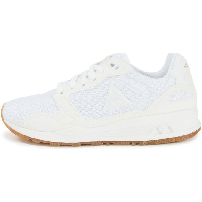 Le Coq Sportif Lcs R900 Sparkly Blanc - Chaussures Baskets Basses Femme