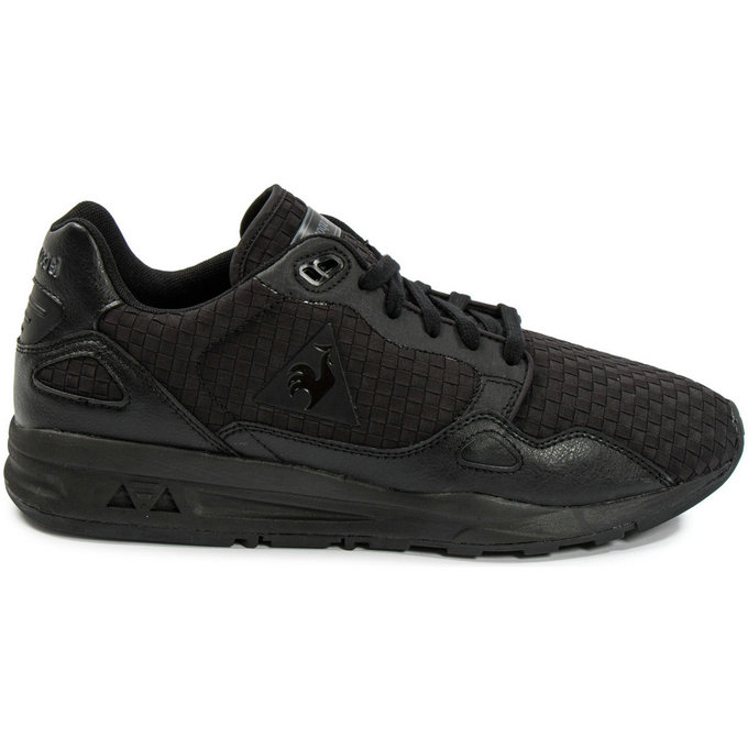 34bed9a23d9 Le Coq Sportif Lcs R900 Woven Noir - Chaussures Baskets Basses Homme Soldes  Nice