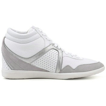 Le Coq Sportif Monge Luxe Wn Blanc - Chaussures Basket Montante Femme