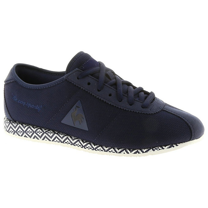 Le Coq Sportif Wendon W Ethnic Marine - Chaussures Baskets Basses Femme