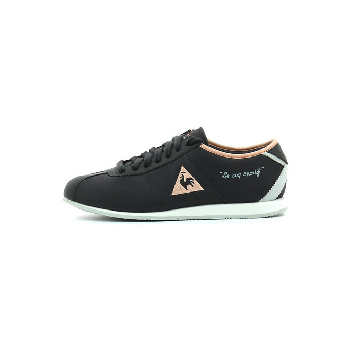 Le Coq Sportif Wendon Classic Charcoal Tropical Peach Chaussures Femme