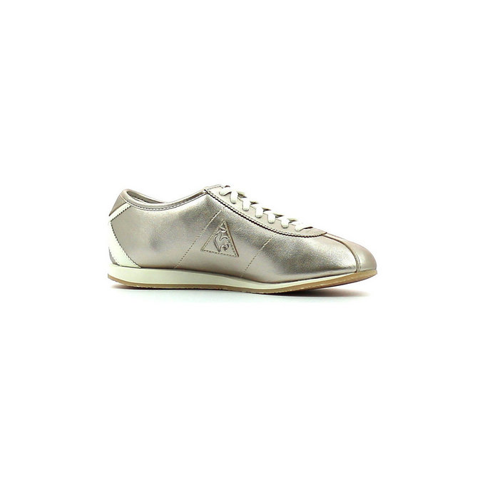 Le Coq Sportif Wendon W Metallic Gray Morn - Chaussures Baskets Basses Femme