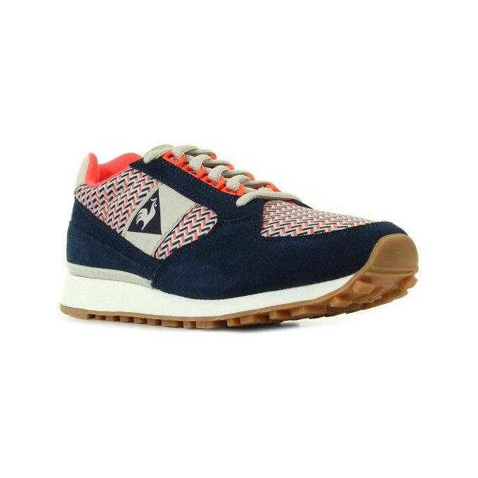 c522dbb96b5 Site Officiel Le Coq Sportif Eclat W Geo Jacquard Bleu - Chaussures Baskets  Basses Femme Prix