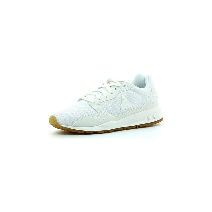 Le Coq Sportif Lcs R900 W Sparkly Optical Blanc - Chaussures Baskets Basses Femme