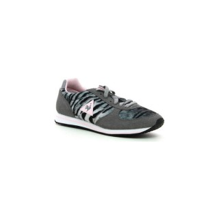 Authentique Le Coq Sportif Bolivar W Tiger Grey - Chaussures Baskets Basses Femme