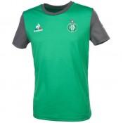 42aac05a6693 Boutique Le Coq Sportif Asse Maillot Vert Trainin Vert T-Shirts Manches  Courtes Homme En