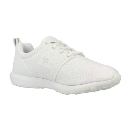 Le Coq Sportif Dynacomf W iridescent Blanc - Chaussures Baskets basses Femme