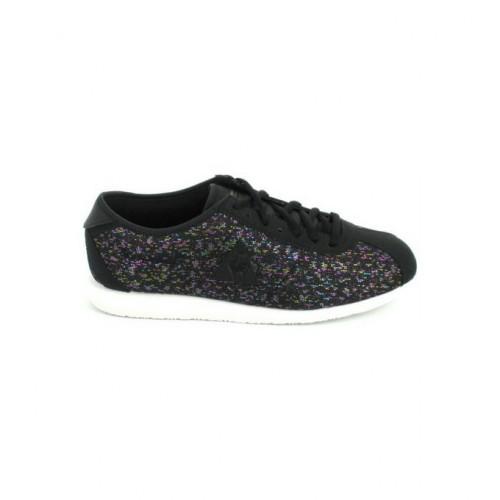813a27ecd54dd FR Le Coq Sportif Wendon Raindow Jacquard Noir - Chaussures Basket Femme