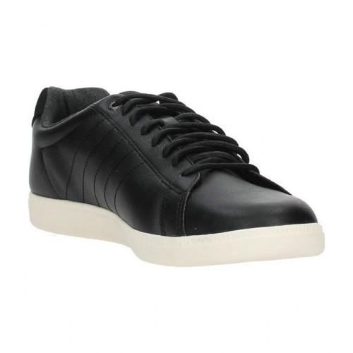 coq sportif cuir noir