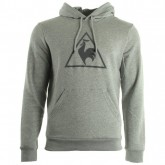 Le Coq Sportif Affutage Po Hood Unbr M Light Heather Grey Gris Sweats Homme Commerce De Gros