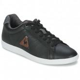 0bcdb670d1d Le Coq Sportif Courtone S Noir - Chaussures Baskets Basses Homme Remise Lyon