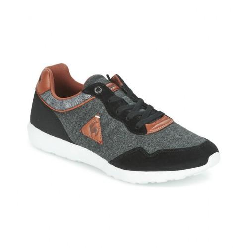 5ee7a6a0039 Le Coq Sportif Dynacomf Cft 2 Tones Noir   Gris - Chaussures Baskets Basses  Homme Acheter
