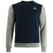 Le Coq Sportif Helior N°2 Crew Sweat M Dress Blue Light Grey Bleu Sweats Homme France Métropolitaine