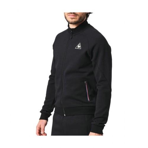 55ea7a47e968 Le Coq Sportif Lcs Tech Fz Sweat M Noir Vestes De Survêtement Homme Soldes  France