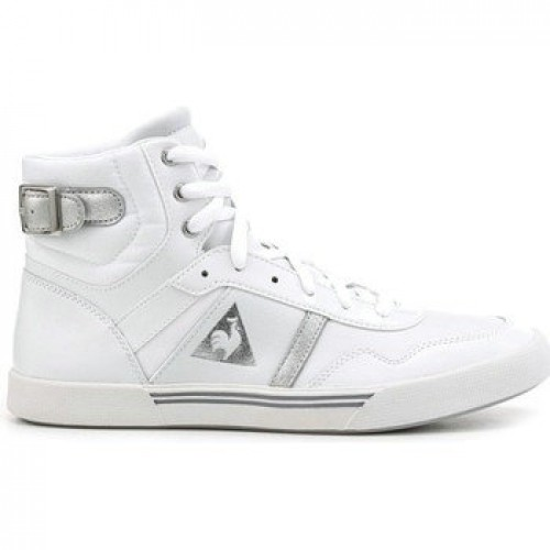36e0331d0a3 Le Coq Sportif Lecourbe Wn Blanc - Chaussures Basket Montante Femme Promos  Code
