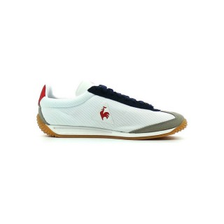 Le Coq Sportif Quartz Gum Optical Blanc / Titanium - Chaussures Baskets Basses Boutique France