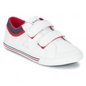 5d2e539a310b Le Coq Sportif Saint Gaetan Ps Cvs Blanc / Rouge Chaussures Baskets Basses  Enfant Vendre Cannes