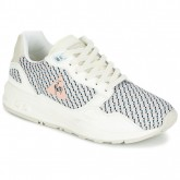 1759423187fb Magasin Le Coq Sportif Lcs R900 W Geo Jacquard Blanc   Multicolore -  Chaussures Baskets Basses
