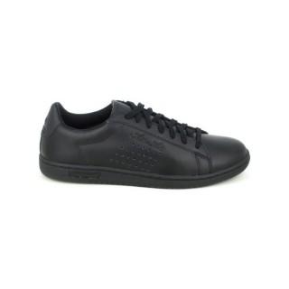 3ce0cfc94dc Mode Le Coq Sportif Arthur Ashe Noir - Chaussures Baskets Basses Homme