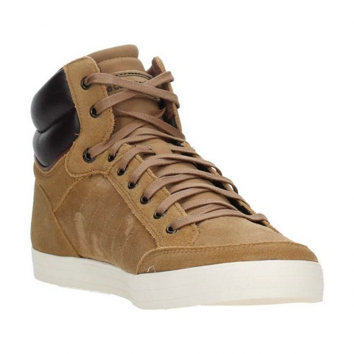 a93a088610e Nouvelle Collection Le Coq Sportif 1620428 Sneakers Homme Cuir Beige  Chaussures
